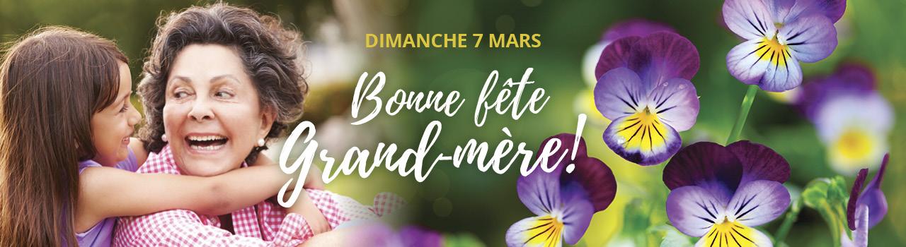 Dimanche 7 mars, ne ratez pas la fête des Grands-Mères - Tropix